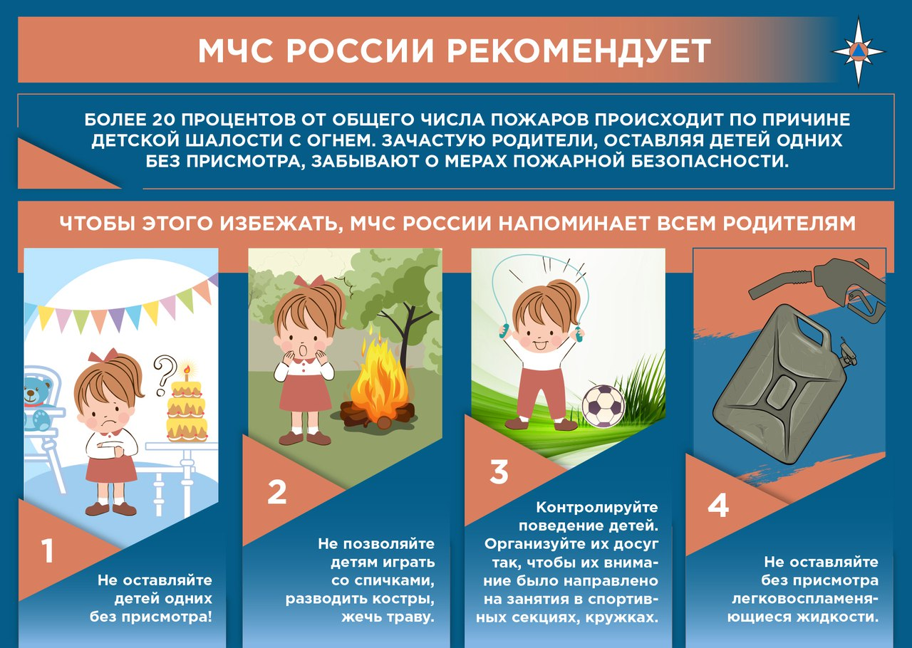 MChS pozhary dety